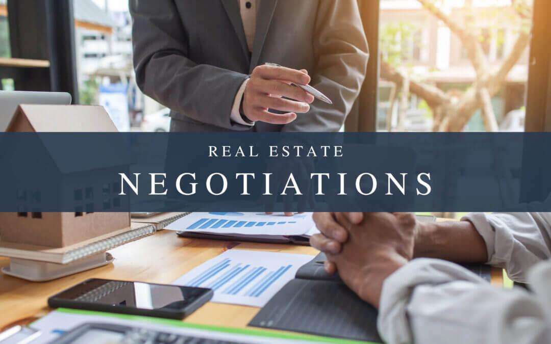 房地产的谈判